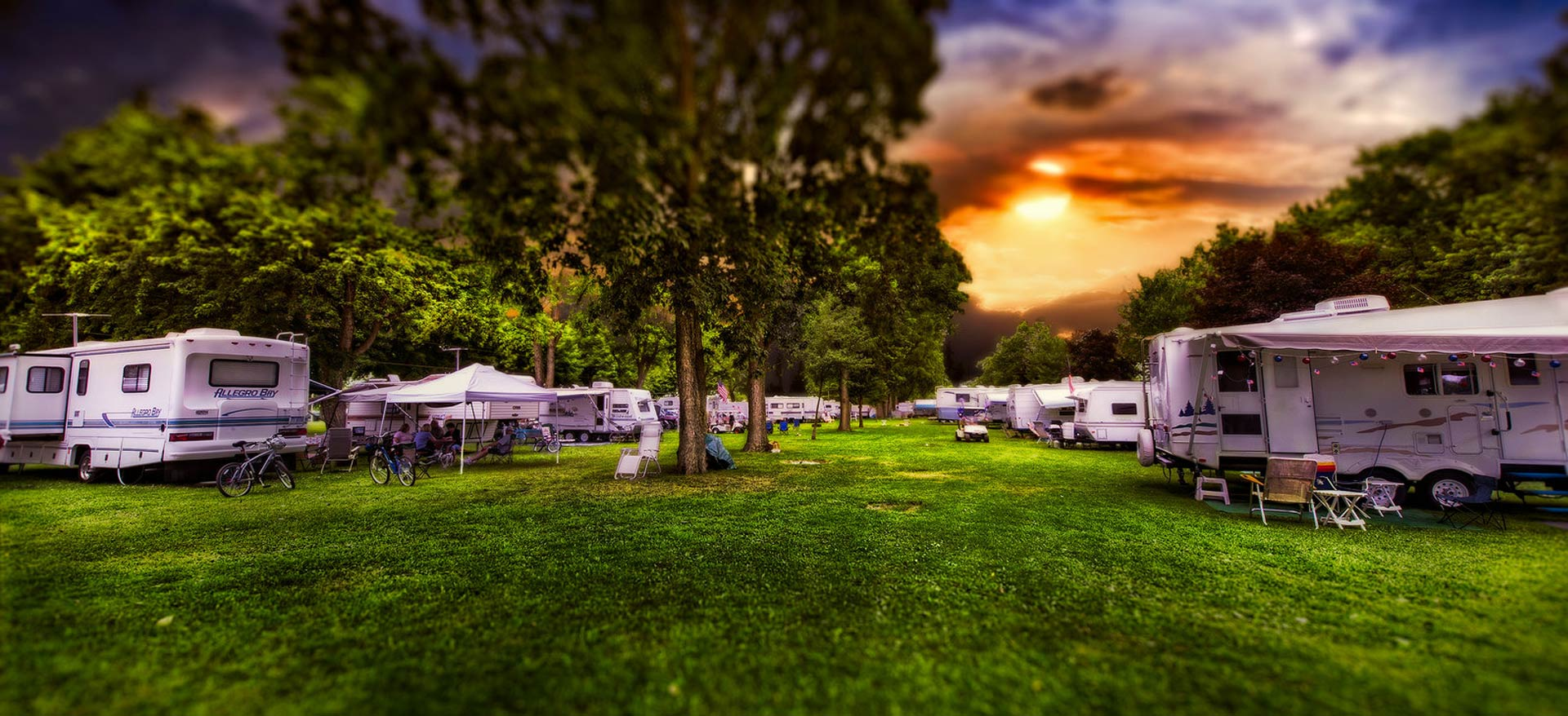 Waffle Farm Campground Group and Club Area
