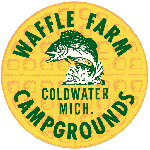 Area Map – Waffle Farm Campgrounds | Coldwater, Michigan | Camping